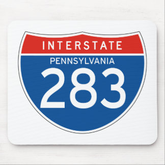 Interstate Sign 283 - Pennsylvania Mouse Pad