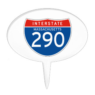 Interstate Sign 290 - Massachusetts Cake Pick