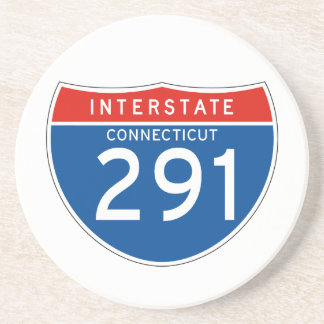 Interstate Sign 291 - Connecticut Coaster