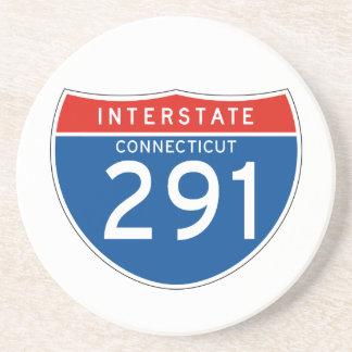 Interstate Sign 291 - Connecticut Coaster