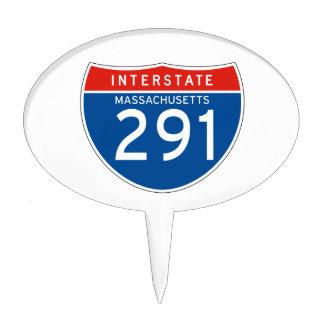 Interstate Sign 291 - Massachusetts Cake Pick