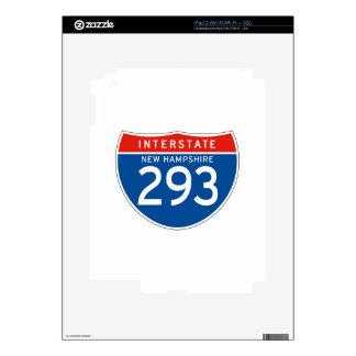 Interstate Sign 293 - New Hampshire iPad 2 Skin