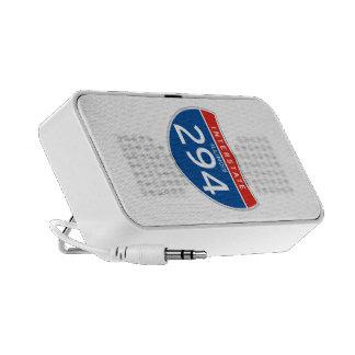Interstate Sign 294 - Illinois iPod Speakers