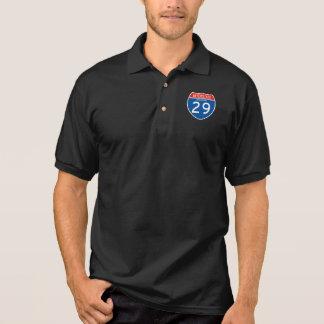 Interstate Sign 29 - Missouri Polo Shirt