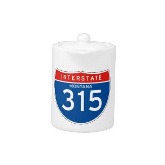 Interstate Sign 315 - Montana