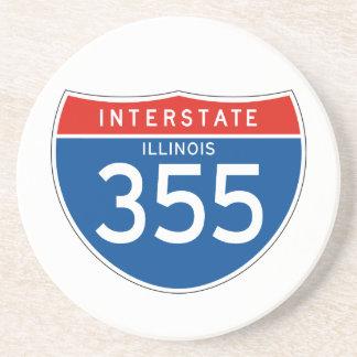 Interstate Sign 355 - Illinois Coaster