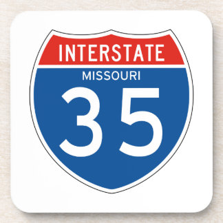 Interstate Sign 35 - Missouri Coaster