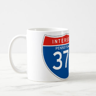 Interstate Sign 376 - Pennsylvania Coffee Mug