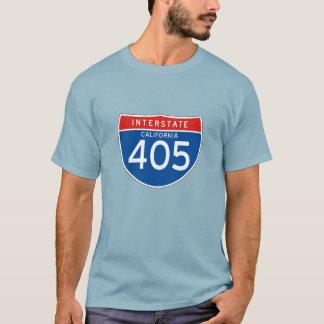 Interstate Sign 405 - California T-Shirt