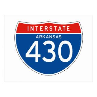 Interstate Sign 430 - Arkansas Postcards