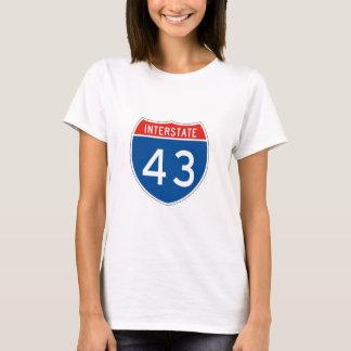 Interstate Sign 43 T-Shirt
