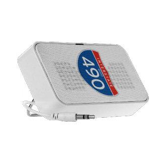 Interstate Sign 490 - Ohio Travelling Speaker