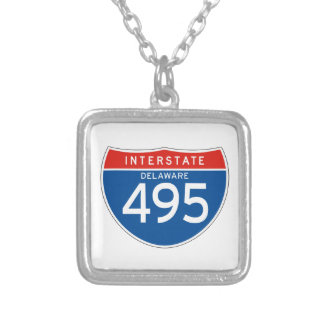 Interstate Sign 495 - Delaware Pendants