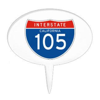 Interstate Sign 495 - Massachusetts Cake Pick