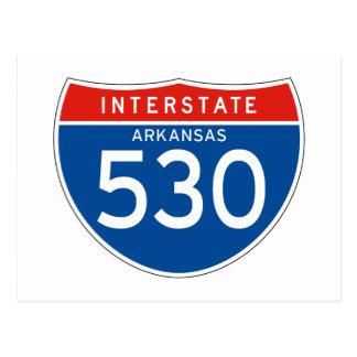 Interstate Sign 530 - Arkansas Post Card
