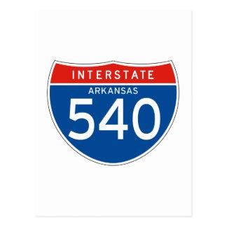 Interstate Sign 540 - Arkansas Post Cards