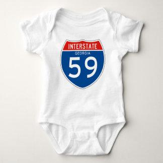 Interstate Sign 59 - Georgia Tee Shirt