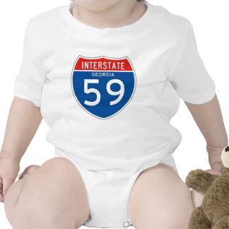 Interstate Sign 59 - Georgia Baby Creeper