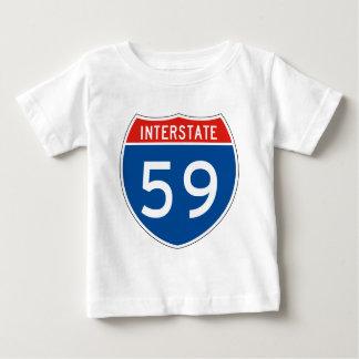 Interstate Sign 59 T-shirt