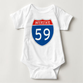 Interstate Sign 59 T Shirt
