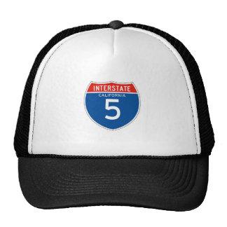 Interstate Sign 5 - Californian Trucker Hat
