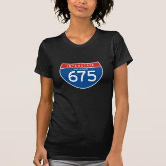 Interstate Sign 675 - Michigan T-Shirt