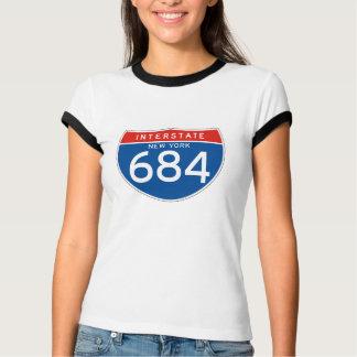 Interstate Sign 684 - New York T-Shirt