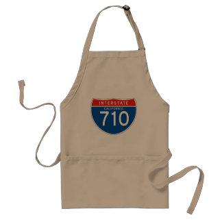 Interstate Sign 710 - California Adult Apron
