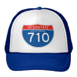 Interstate Sign 710 - California Hat