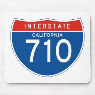 Interstate Sign 710 - California Mouse Pad