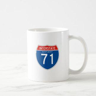 Interstate Sign 71 - Kentucky Coffee Mug