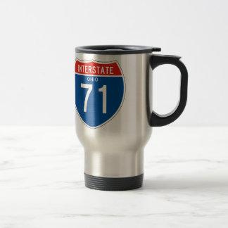 Interstate Sign 71 - Ohio Travel Mug