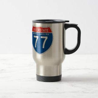 Interstate Sign 77 - North Carolina Travel Mug