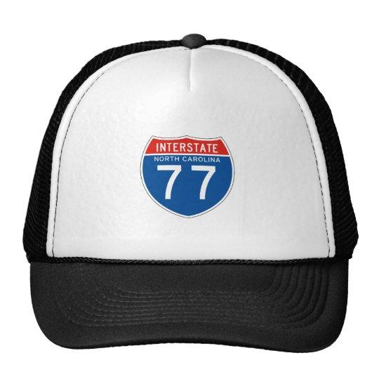 Interstate Sign 77 - North Carolina Trucker Hat