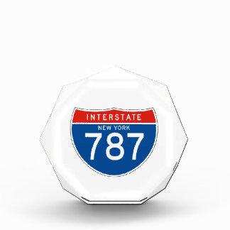 Interstate Sign 787 - New York Acrylic Award