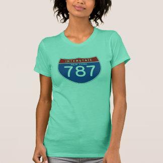 Interstate Sign 787 - New York T-Shirt