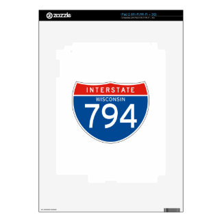 Interstate Sign 794 - Wisconsin Decals For The iPad 2