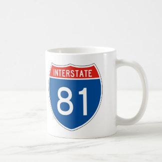 Interstate Sign 81 Coffee Mug