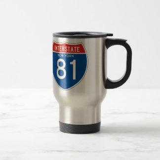 Interstate Sign 81 - New York Travel Mug