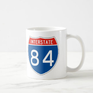 Interstate Sign 84 Coffee Mug