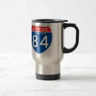 Interstate Sign 84 - Connecticut Travel Mug