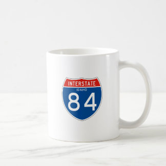Interstate Sign 84 - Idaho Coffee Mug