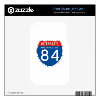 Interstate Sign 84 - Massachusetts iPod Touch 4G Skin