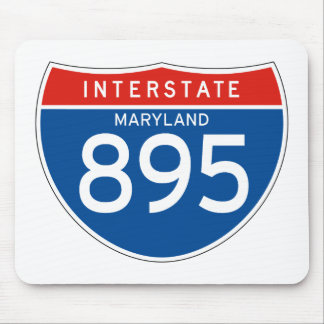 Interstate Sign 895 - Maryland Mouse Pad