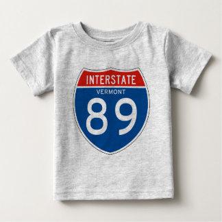 Interstate Sign 89 - Vermont Baby T-Shirt