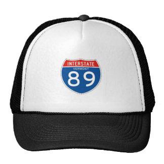 Interstate Sign 89 - Vermont Mesh Hats