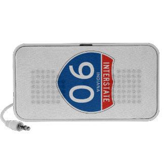 Interstate Sign 90 - Indiana Speaker System