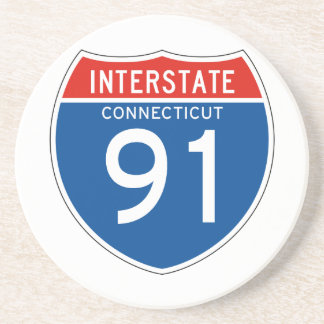 Interstate Sign 91 - Connecticut Coasters
