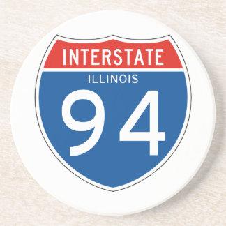Interstate Sign 94 - Illinois Coasters