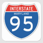 Interstate Sign 95 - Maryland Stickers